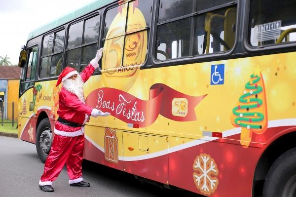 Ônibus do Papai Noel