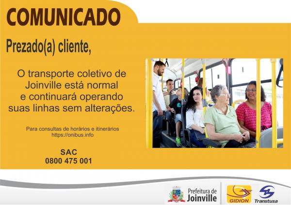 Coletivo Joinville - Greve dos Caminhoneiros