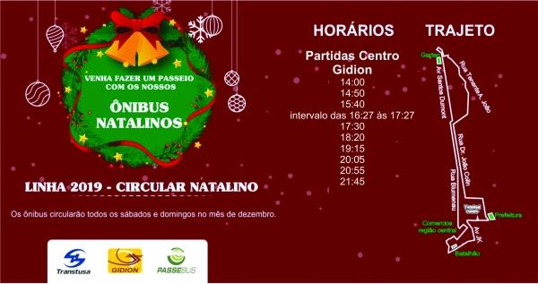 Ônibus de Natal têm itinerário especial nos finais de semana